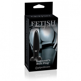 Pipedream Fetish Fantasy Beginners Butt Plug Ø 30 mm (black)