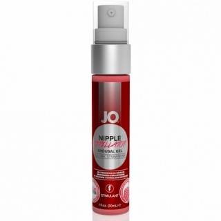 System JO - Nipple titillator Strawberry (30 ml)