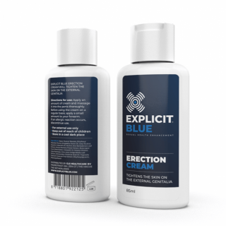 Explicit Blue erection creme (85 ml)
