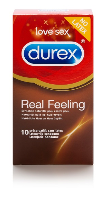Durex Real Feeling latexvrije condooms